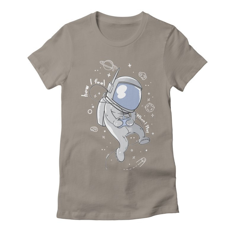 how I feel Women's Fitted T-Shirt by torquatto's Artist Shop