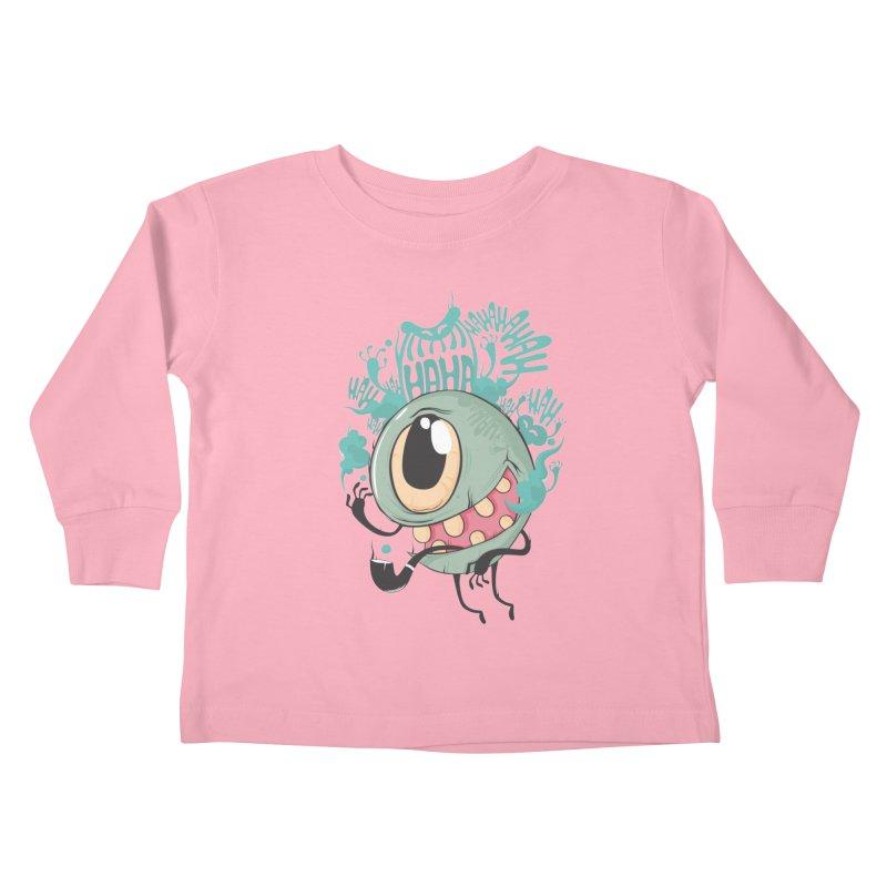 Zeedy boy smoke Kids Toddler Longsleeve T-Shirt by torquatto's Artist Shop