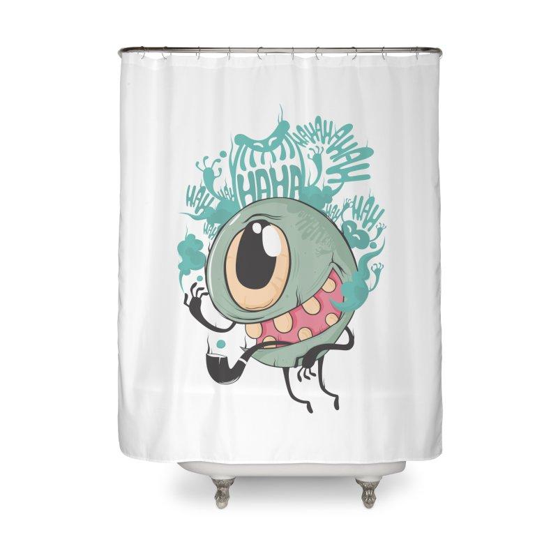 Zeedy boy smoke Home Shower Curtain by torquatto's Artist Shop
