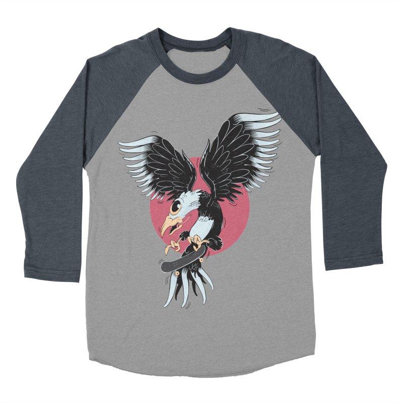 Old school skateboard Women's Baseball Triblend Longsleeve T-Shirt by torquatto's Artist Shop