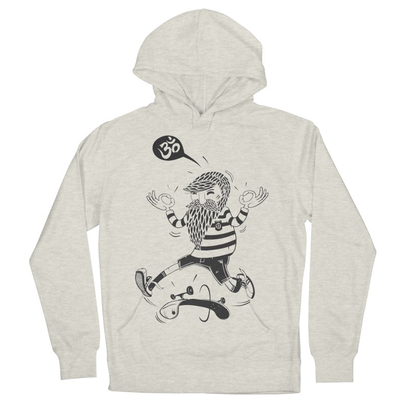 Skate zen Men's French Terry Pullover Hoody by torquatto's Artist Shop