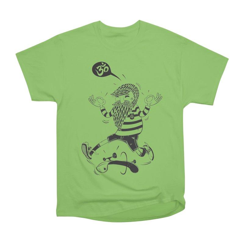 Skate zen Men's Heavyweight T-Shirt by torquatto's Artist Shop