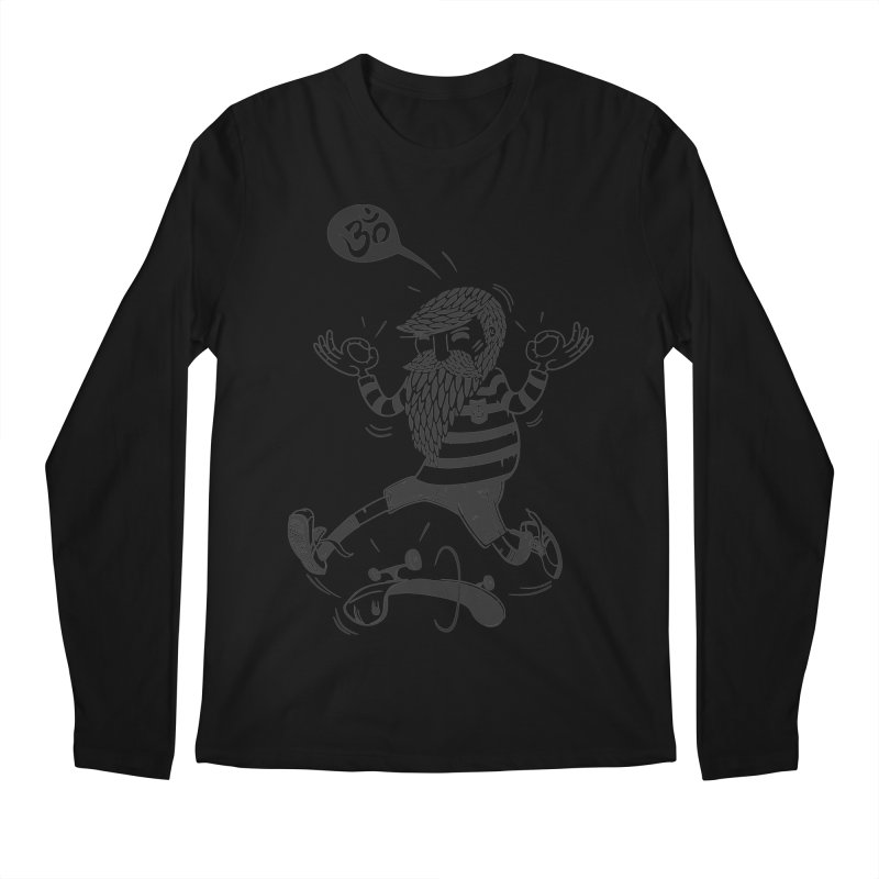 Skate zen Men's Longsleeve T-Shirt by torquatto's Artist Shop