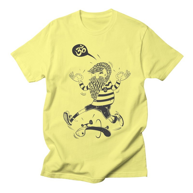 Skate zen Men's T-shirt by torquatto's Artist Shop