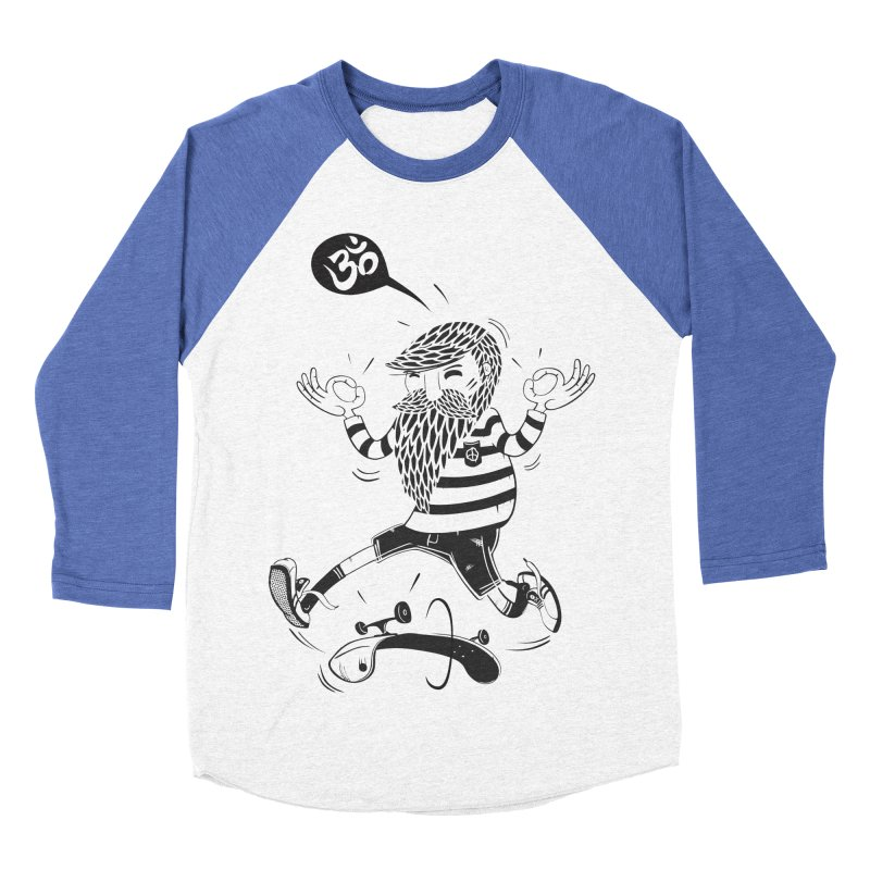 Skate zen Women's Baseball Triblend T-Shirt by torquatto's Artist Shop