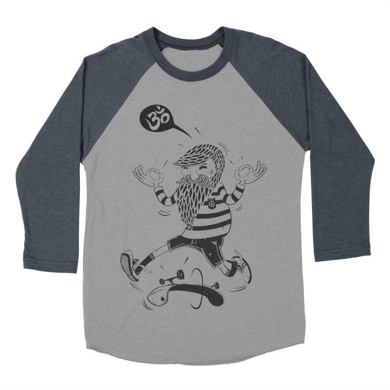 Skate zen Men's Baseball Triblend T-Shirt by torquatto's Artist Shop