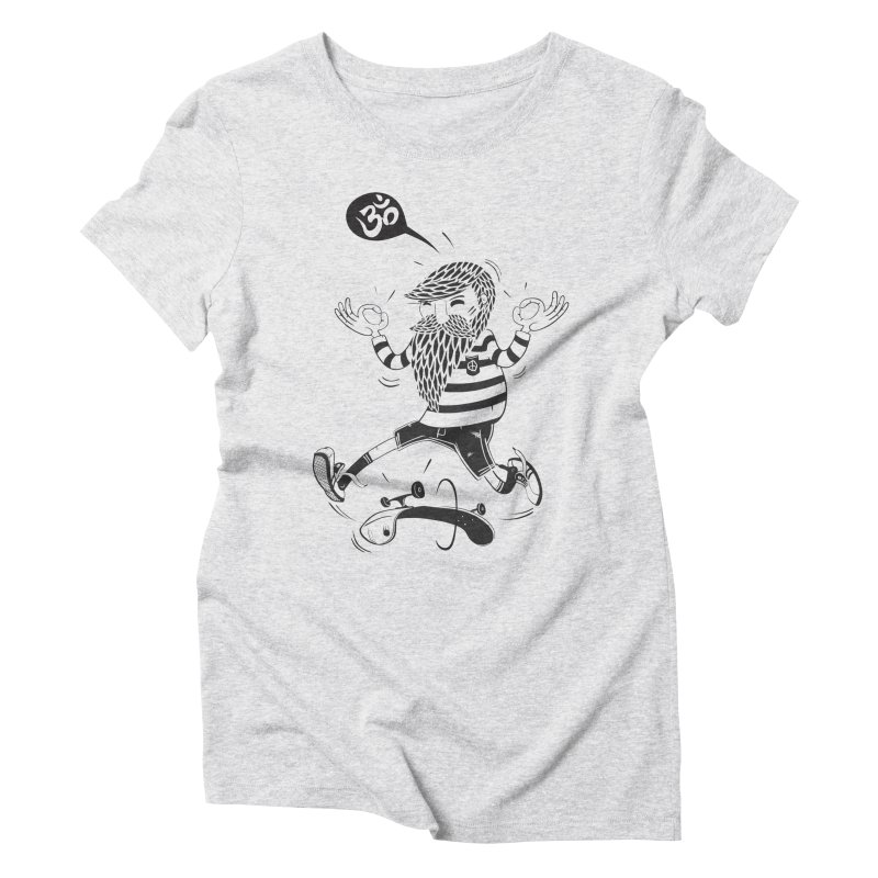 Skate zen Women's Triblend T-Shirt by torquatto's Artist Shop