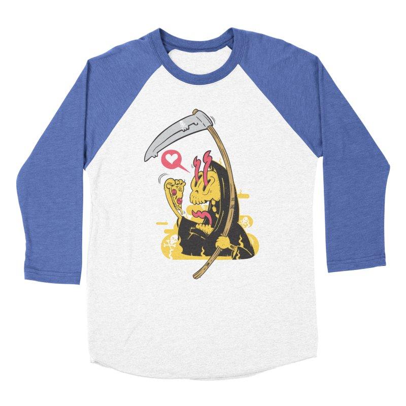 Break to eat Men's Baseball Triblend T-Shirt by torquatto's Artist Shop