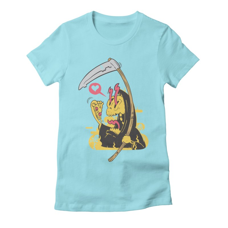 Break to eat Women's Fitted T-Shirt by torquatto's Artist Shop