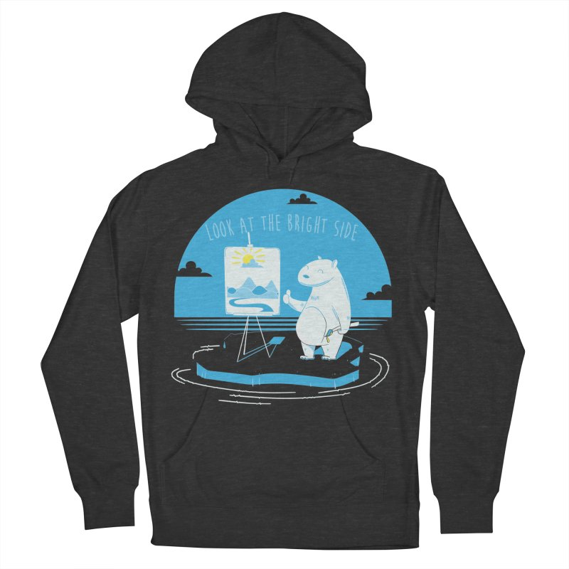 bright side Men's French Terry Pullover Hoody by torquatto's Artist Shop