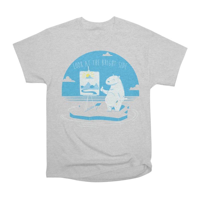 bright side Women's Heavyweight Unisex T-Shirt by torquatto's Artist Shop