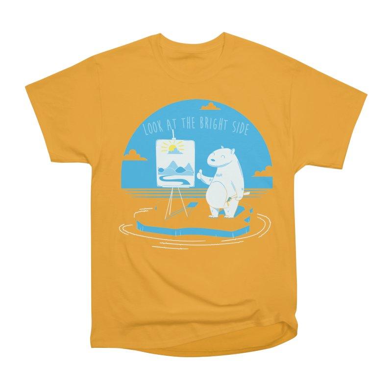 bright side Men's Heavyweight T-Shirt by torquatto's Artist Shop