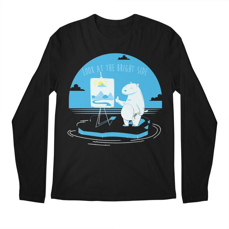 bright side Men's Longsleeve T-Shirt by torquatto's Artist Shop