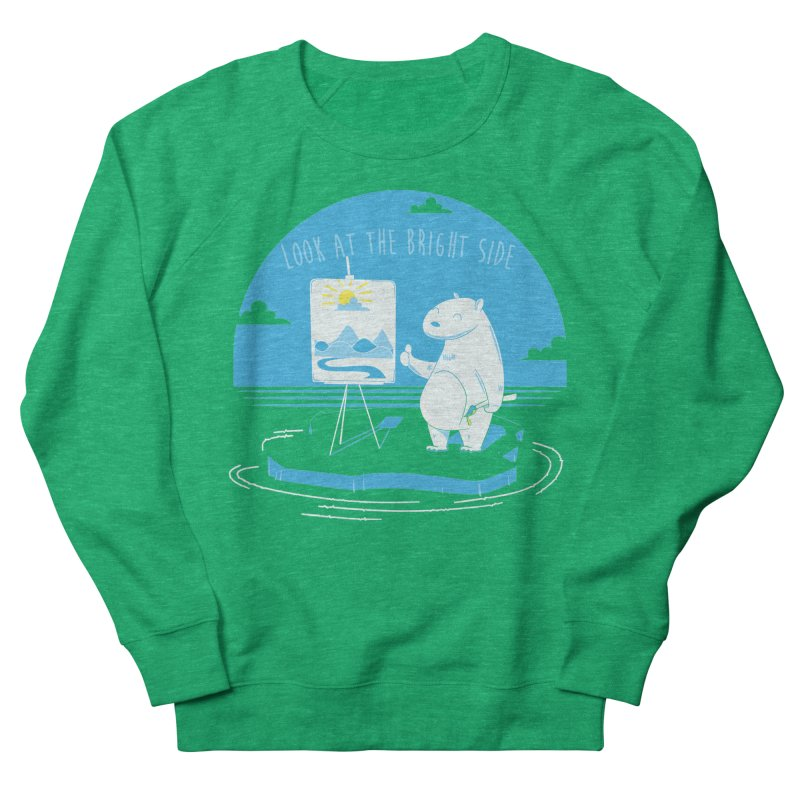 bright side Women's Sweatshirt by torquatto's Artist Shop