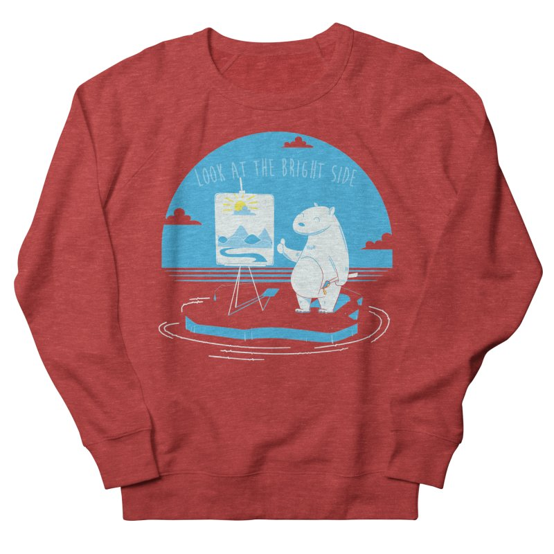 bright side Men's Sweatshirt by torquatto's Artist Shop