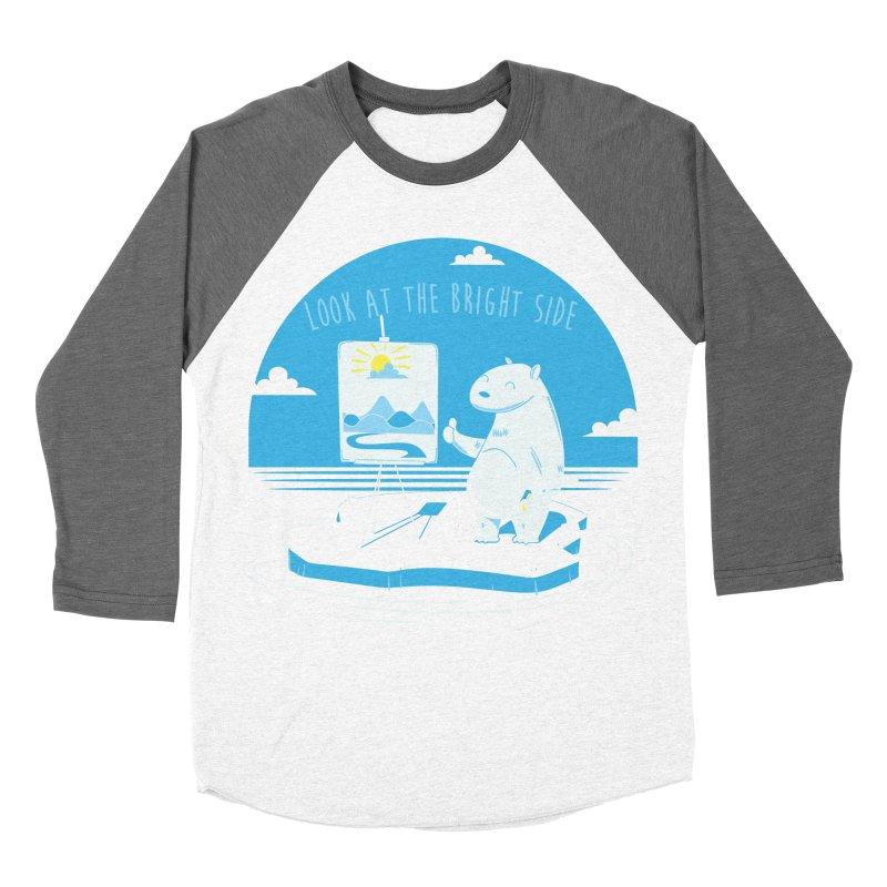 bright side Women's Baseball Triblend Longsleeve T-Shirt by torquatto's Artist Shop