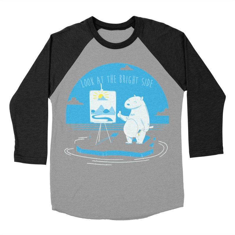 bright side Women's Baseball Triblend T-Shirt by torquatto's Artist Shop