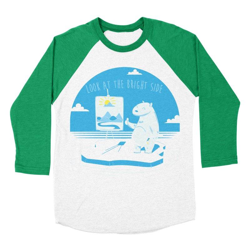 bright side Men's Baseball Triblend T-Shirt by torquatto's Artist Shop