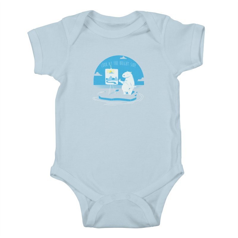 bright side Kids Baby Bodysuit by torquatto's Artist Shop