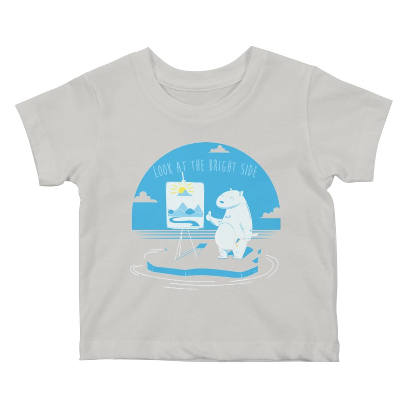 bright side Kids Baby T-Shirt by torquatto's Artist Shop