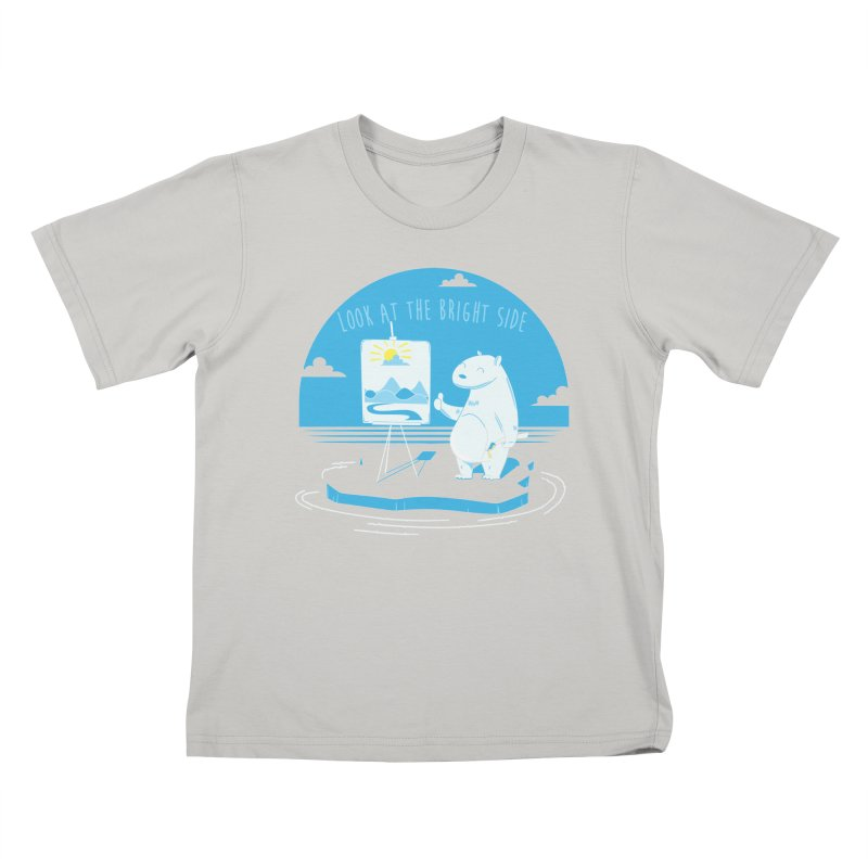 bright side Kids T-Shirt by torquatto's Artist Shop