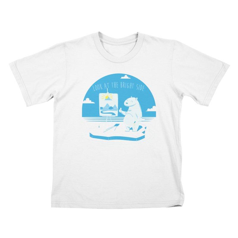 bright side Kids T-Shirt by torquatto's Artist Shop