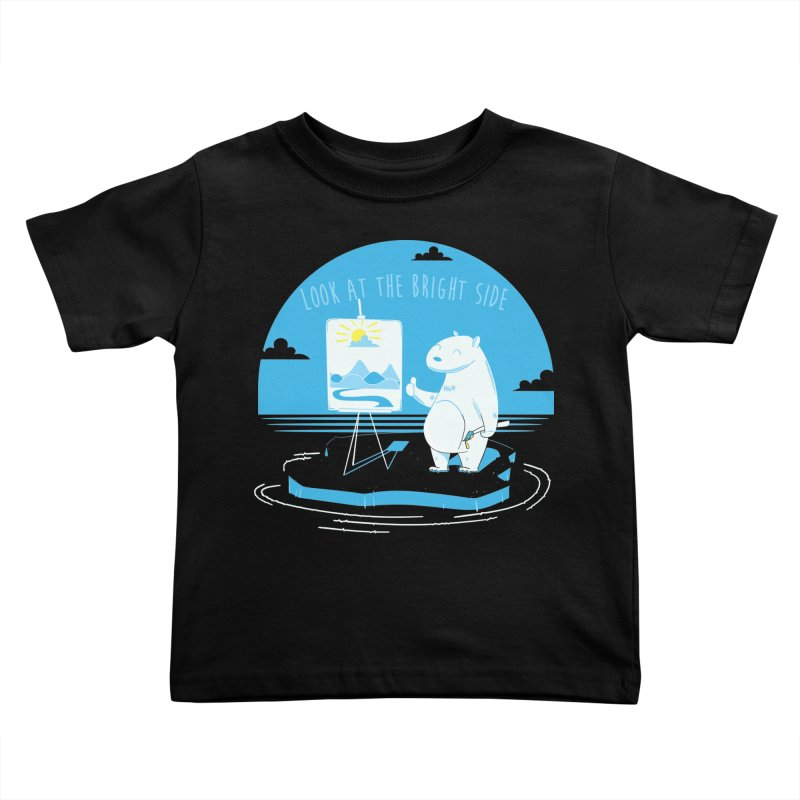 bright side Kids Toddler T-Shirt by torquatto's Artist Shop