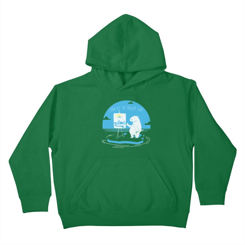 bright side Kids Pullover Hoody by torquatto's Artist Shop
