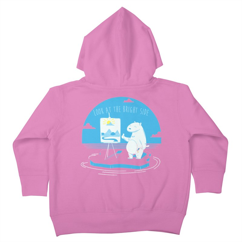 bright side Kids Toddler Zip-Up Hoody by torquatto's Artist Shop
