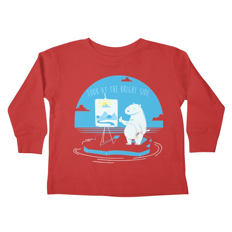 bright side Kids Toddler Longsleeve T-Shirt by torquatto's Artist Shop