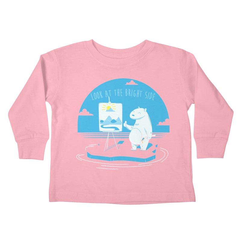 bright side Kids Toddler Longsleeve T-Shirt by torquatto's Artist Shop
