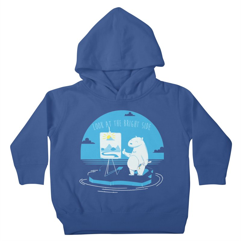 bright side Kids Toddler Pullover Hoody by torquatto's Artist Shop