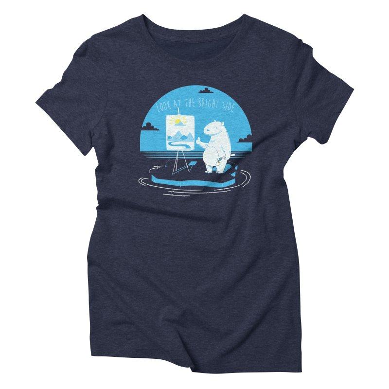 bright side Women's Triblend T-shirt by torquatto's Artist Shop