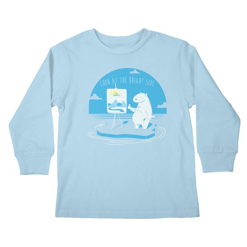 bright side Kids Longsleeve T-Shirt by torquatto's Artist Shop