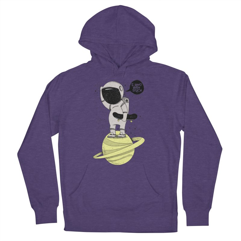 Astro Skate 1 Men's Pullover Hoody by torquatto's Artist Shop