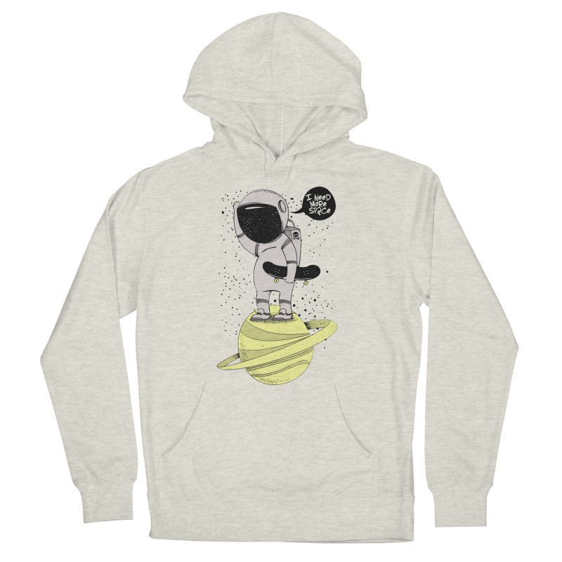 Astro Skate 1 Men's French Terry Pullover Hoody by torquatto's Artist Shop