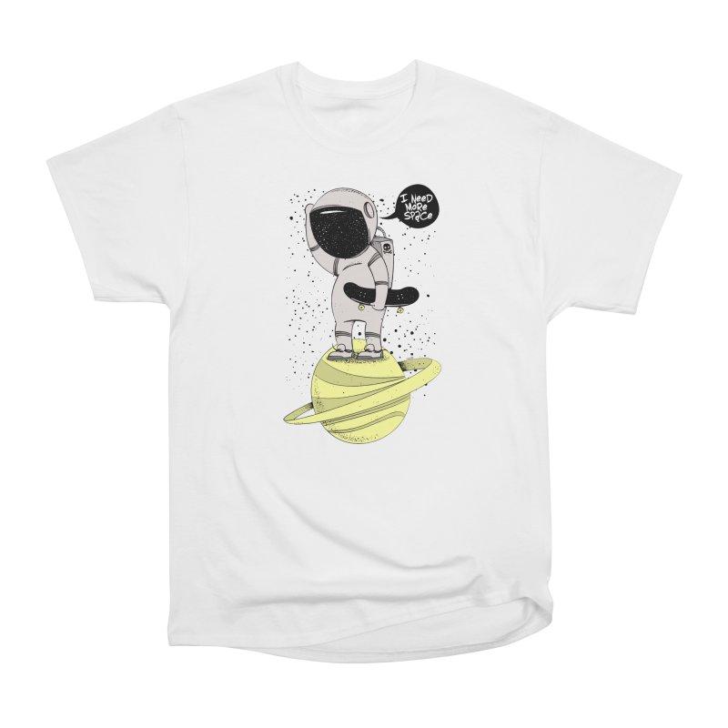 Astro Skate 1 Men's Heavyweight T-Shirt by torquatto's Artist Shop
