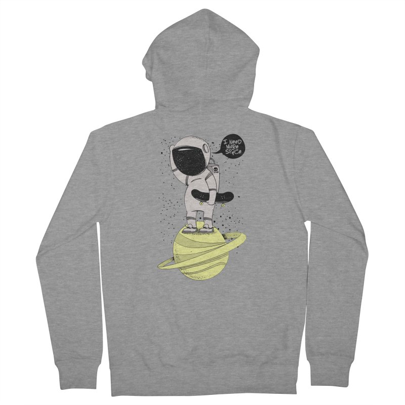 Astro Skate 1 Men's French Terry Zip-Up Hoody by torquatto's Artist Shop
