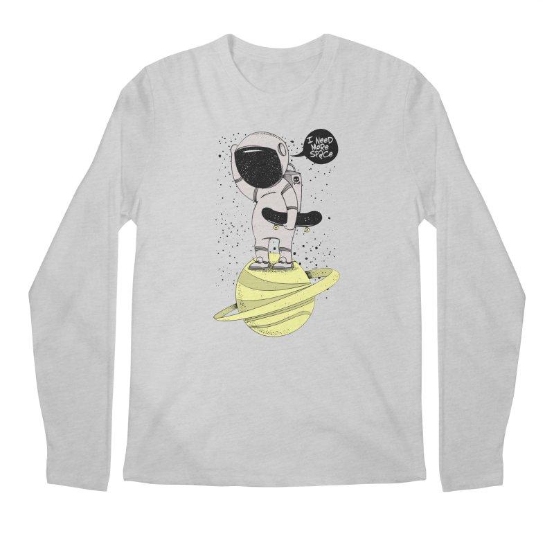 Astro Skate 1 Men's Longsleeve T-Shirt by torquatto's Artist Shop