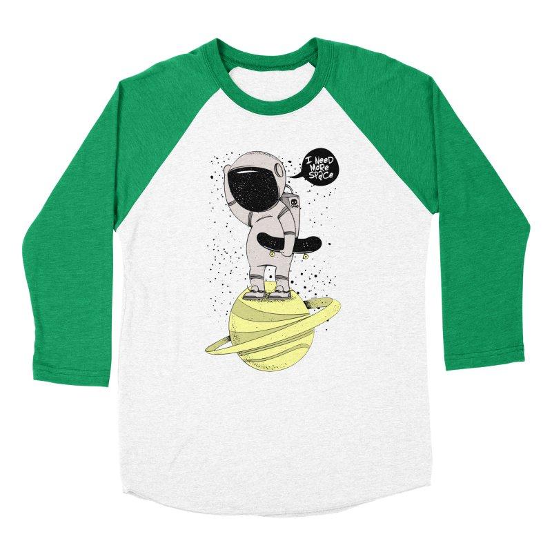 Astro Skate 1 Women's Baseball Triblend Longsleeve T-Shirt by torquatto's Artist Shop