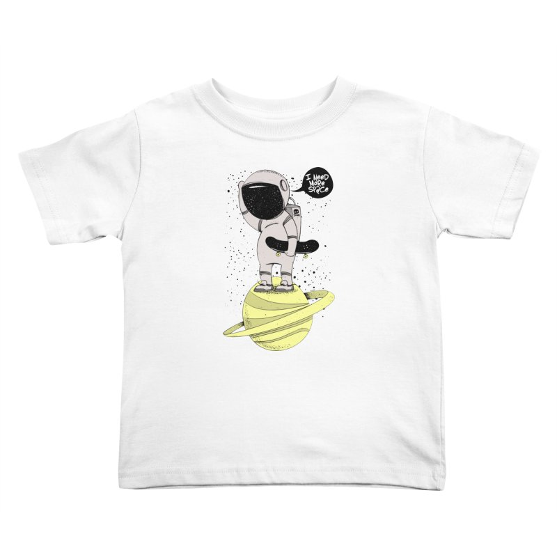 Astro Skate 1 Kids Toddler T-Shirt by torquatto's Artist Shop