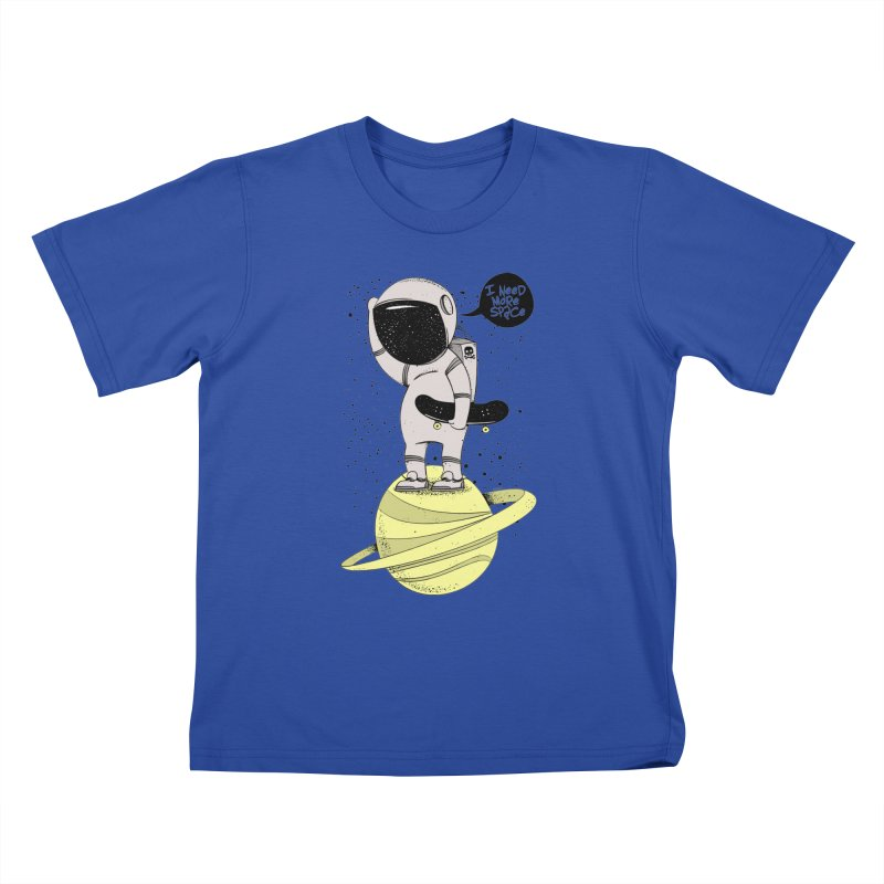 Astro Skate 1 Kids T-Shirt by torquatto's Artist Shop