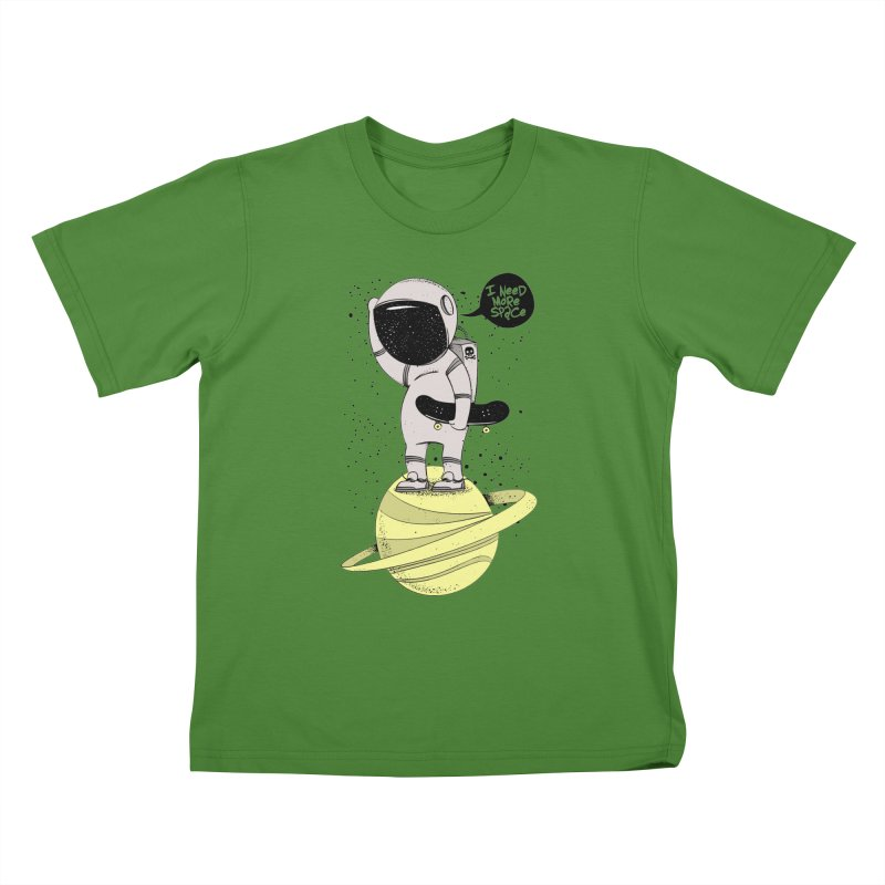 Astro Skate 1 Kids T-Shirt by torquatto's Artist Shop
