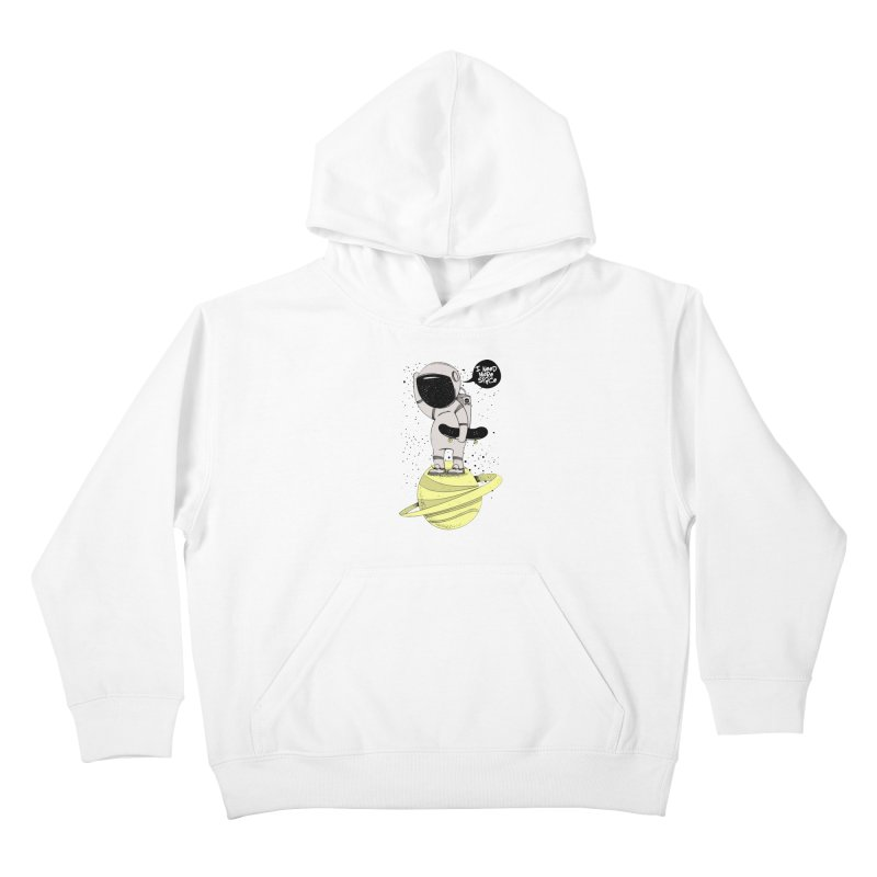 Astro Skate 1 Kids Pullover Hoody by torquatto's Artist Shop