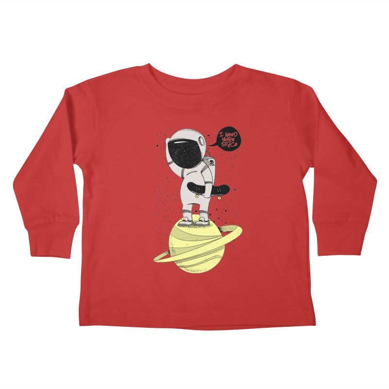 Astro Skate 1 Kids Toddler Longsleeve T-Shirt by torquatto's Artist Shop