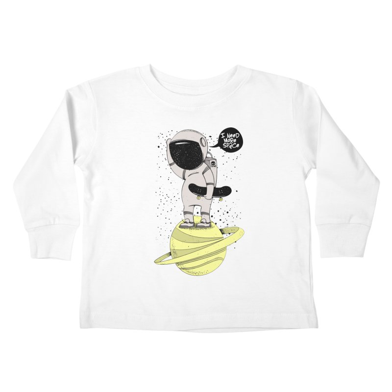 Astro Skate 1 Kids Toddler Longsleeve T-Shirt by torquatto's Artist Shop