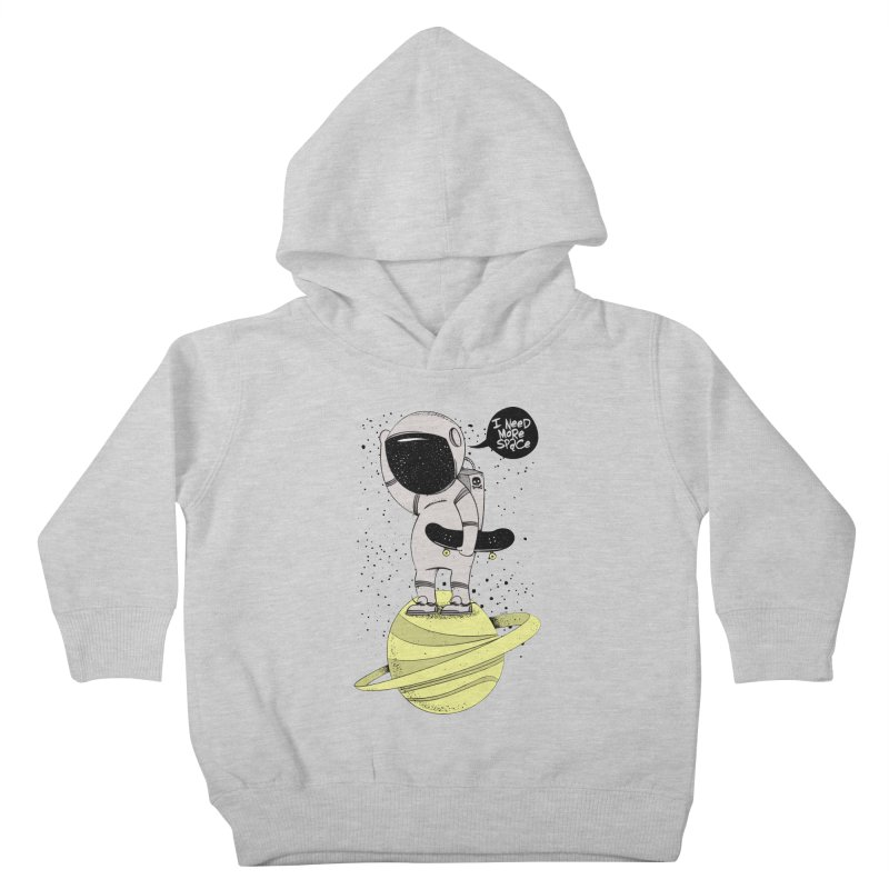 Astro Skate 1 Kids Toddler Pullover Hoody by torquatto's Artist Shop