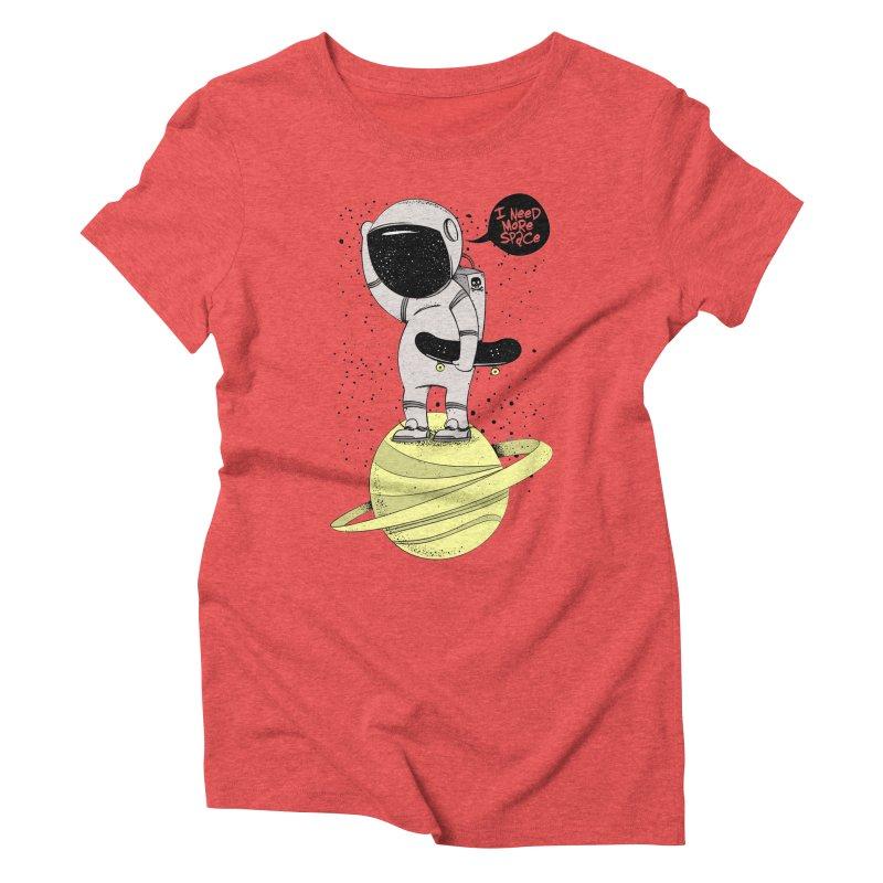 Astro Skate 1 Women's Triblend T-shirt by torquatto's Artist Shop