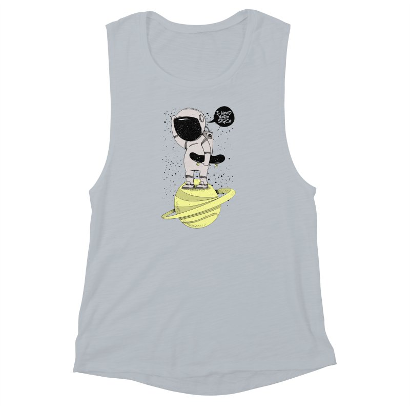 Astro Skate 1 Women's Muscle Tank by torquatto's Artist Shop