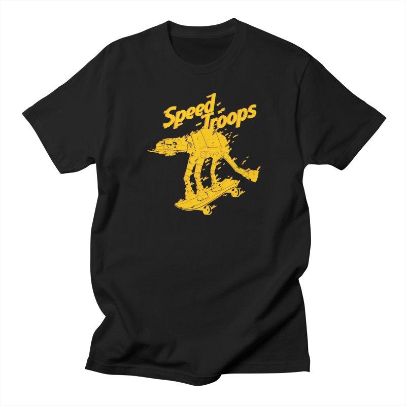 Speed Troops 1 in Men's Regular T-Shirt Black by torquatto's Artist Shop